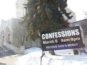 Edmonton Church Portable Sign